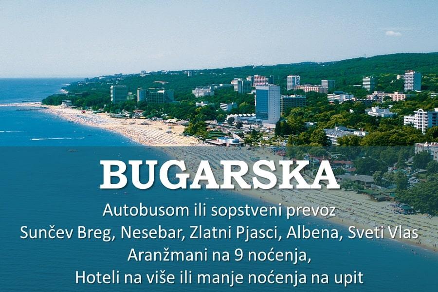 BUGARSKA LETO 2018