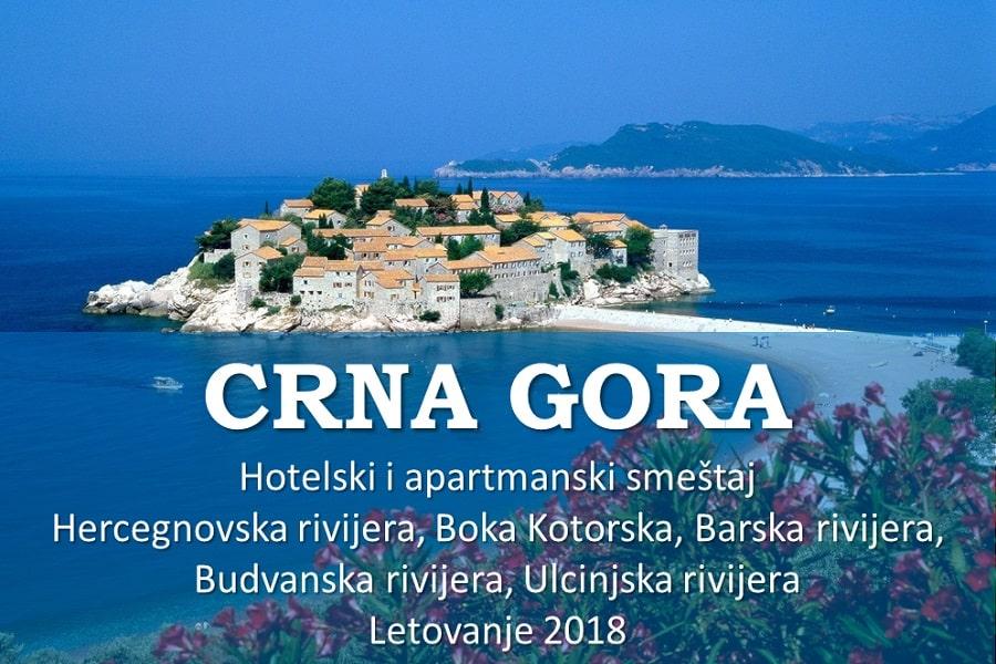 CRNA GORA LETO 2018