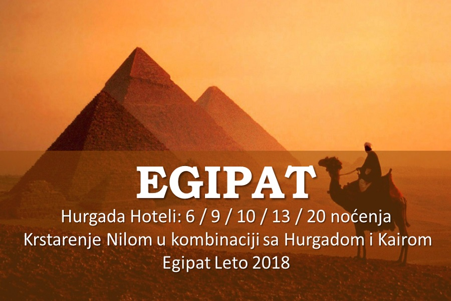 EGIPAT LETO 2018