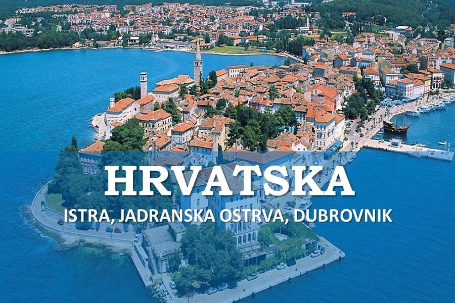 Hrvatska ostrva, Istra, Dubrovnik Letovanje