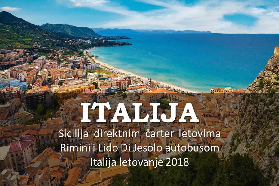 ITALIJA LETO 2018