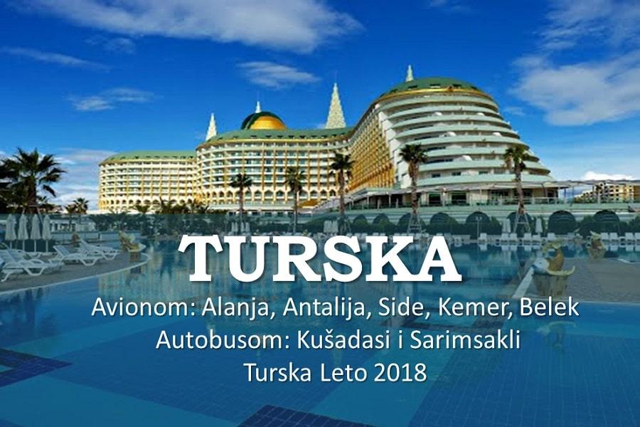TURSKA LETO 2018