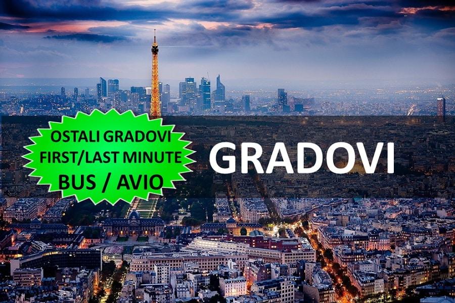 GRADOVI EVROPE BUS / AVIO