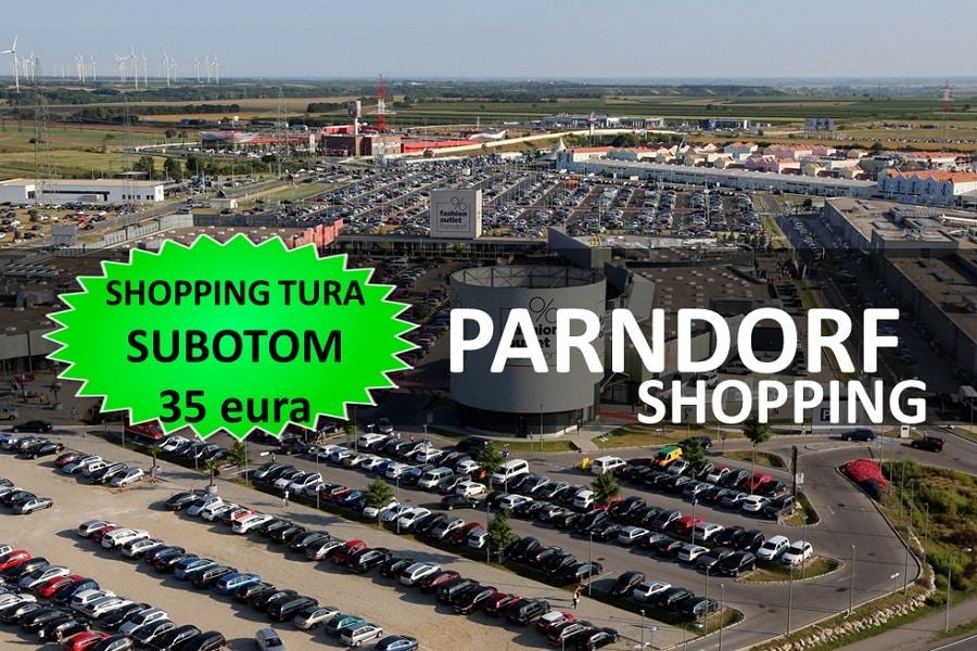 PARNDORF + BEČ SHOPPING TURA