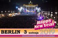 BERLIN NOVA GODINA 2019 3 NOĆENJA