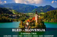 Bled Slovenija putovanje BUS
