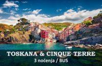 Toskana i Cinque Terre 3 nocenja