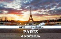 PARIZ PUTOVANJE AVINOM